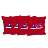 Red Cornhole Bags, Set of 4-AMA Racing