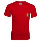 Red T Shirt w/Pocket-Charter Life Member