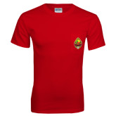 Red T Shirt w/Pocket-Life Member