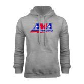 Grey Fleece Hoodie-AMA Racing