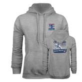 Grey Fleece Hoodie-2016 ISDE Champions