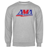 Grey Fleece Crew-AMA Racing