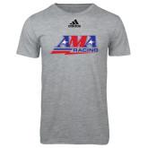 Adidas Sport Grey Logo T Shirt-AMA Racing