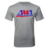 Grey T Shirt-AMA Racing