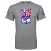 Grey T Shirt-2017 US ISDE Team