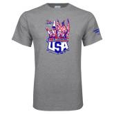 Grey T Shirt-2017 US ISDE Team