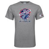 Grey T Shirt-US ISDE Team