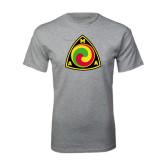 Grey T Shirt-AMA Vintage Logo