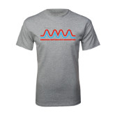 Grey T Shirt-AMA Bicentennial Logo