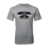 Grey T Shirt-AMA LongRider