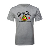 Grey T Shirt-Gypsy Tour