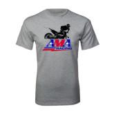 Grey T Shirt-AMA Offroad Racing