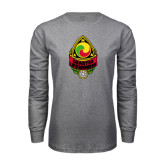 Grey Long Sleeve T Shirt-Charter Life Member