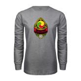 Grey Long Sleeve T Shirt-Charter Life Member