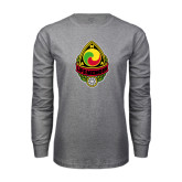 Grey Long Sleeve T Shirt-Life Member