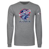 Grey Long Sleeve T Shirt-US ISDE Team