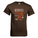 Brown T Shirt-Hall of Fame Glory Days