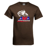Brown T Shirt-AMA RoadRacing