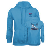 Light Blue Fleece Hoodie-2016 ISDE Champions