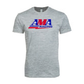 Next Level SoftStyle Heather Grey T Shirt-AMA Racing