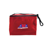 Six Pack Red Cooler-AMA Racing