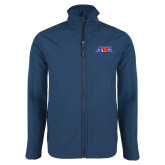 Navy Softshell Jacket-AMA