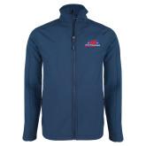 Navy Softshell Jacket-AMA Racing