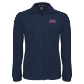 Fleece Full Zip Navy Jacket-AMA Racing