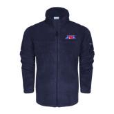 Columbia Full Zip Navy Fleece Jacket-AMA