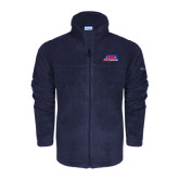 Columbia Full Zip Navy Fleece Jacket-AMA Racing
