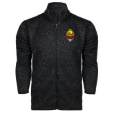 Black Heather Fleece Jacket-Charter Life Member