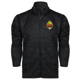 Black Heather Fleece Jacket-Life Member