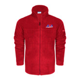 Columbia Full Zip Red Fleece Jacket-AMA Racing