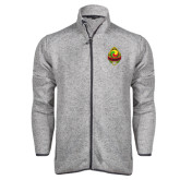 Grey Heather Fleece Jacket-Life Member