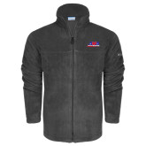 Columbia Full Zip Charcoal Fleece Jacket-AMA Racing