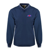 Navy Executive Windshirt-AMA