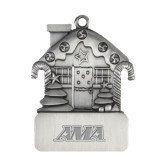 Pewter House Ornament-AMA Engraved