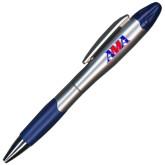 Silver/Blue Blossom Pen/Highlighter-Official Logo