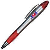 Silver/Red Blossom Pen/Highlighter-Official Logo