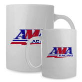 Full Color White Mug 15oz-AMA Racing
