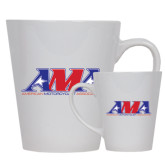 12oz Ceramic Latte Mug-Official Logo