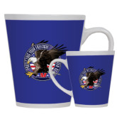 Full Color Latte Mug 12oz-AMA Freedom Rider