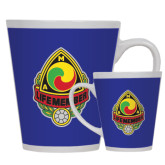 Full Color Latte Mug 12oz-Life Member