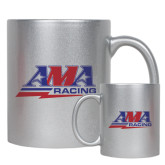 11oz Silver Metallic Ceramic Mug-AMA Racing
