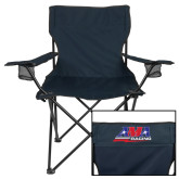 Deluxe Navy Captains Chair-AMA Racing