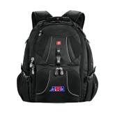 Wenger Swiss Army Mega Black Compu Backpack-AMA