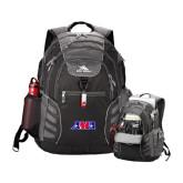 High Sierra Big Wig Black Compu Backpack-AMA