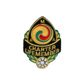 AMA Charter Life Member Patch-