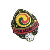 AMA Life Member Single Sticker-