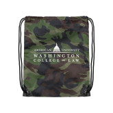 Camo Drawstring Backpack-Official Mark